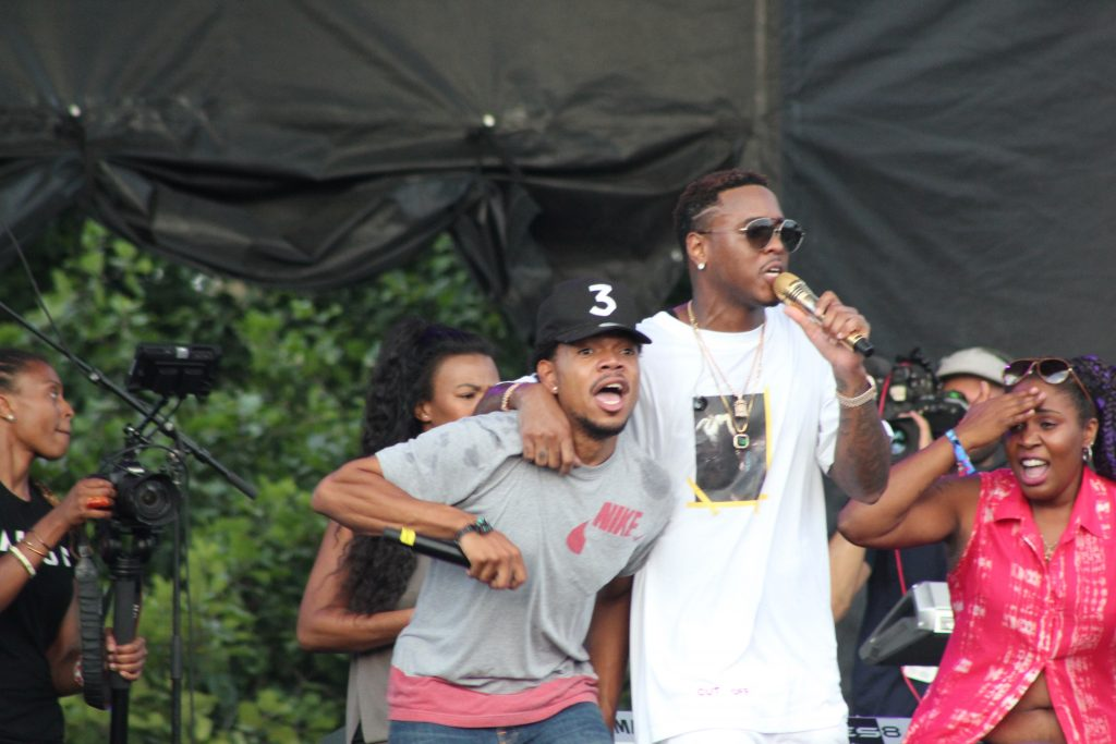 Jeremih + Chance the Rapper