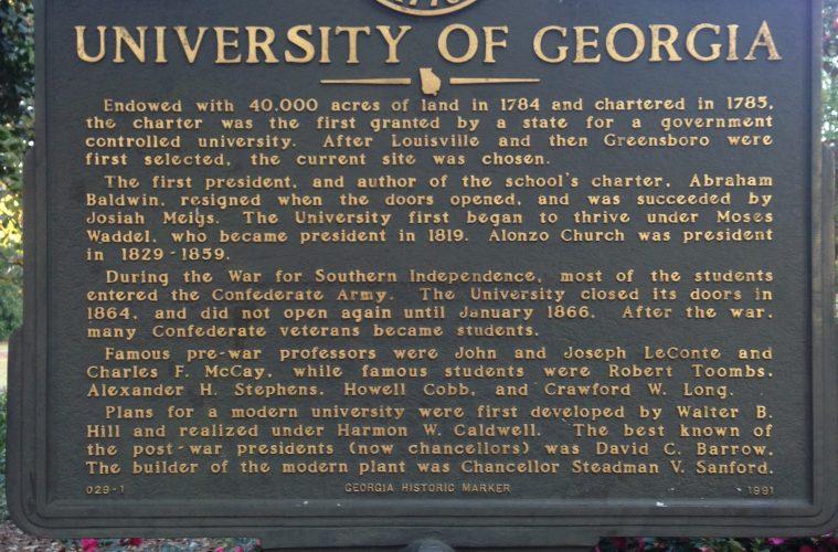 Georgia Civil War Markers