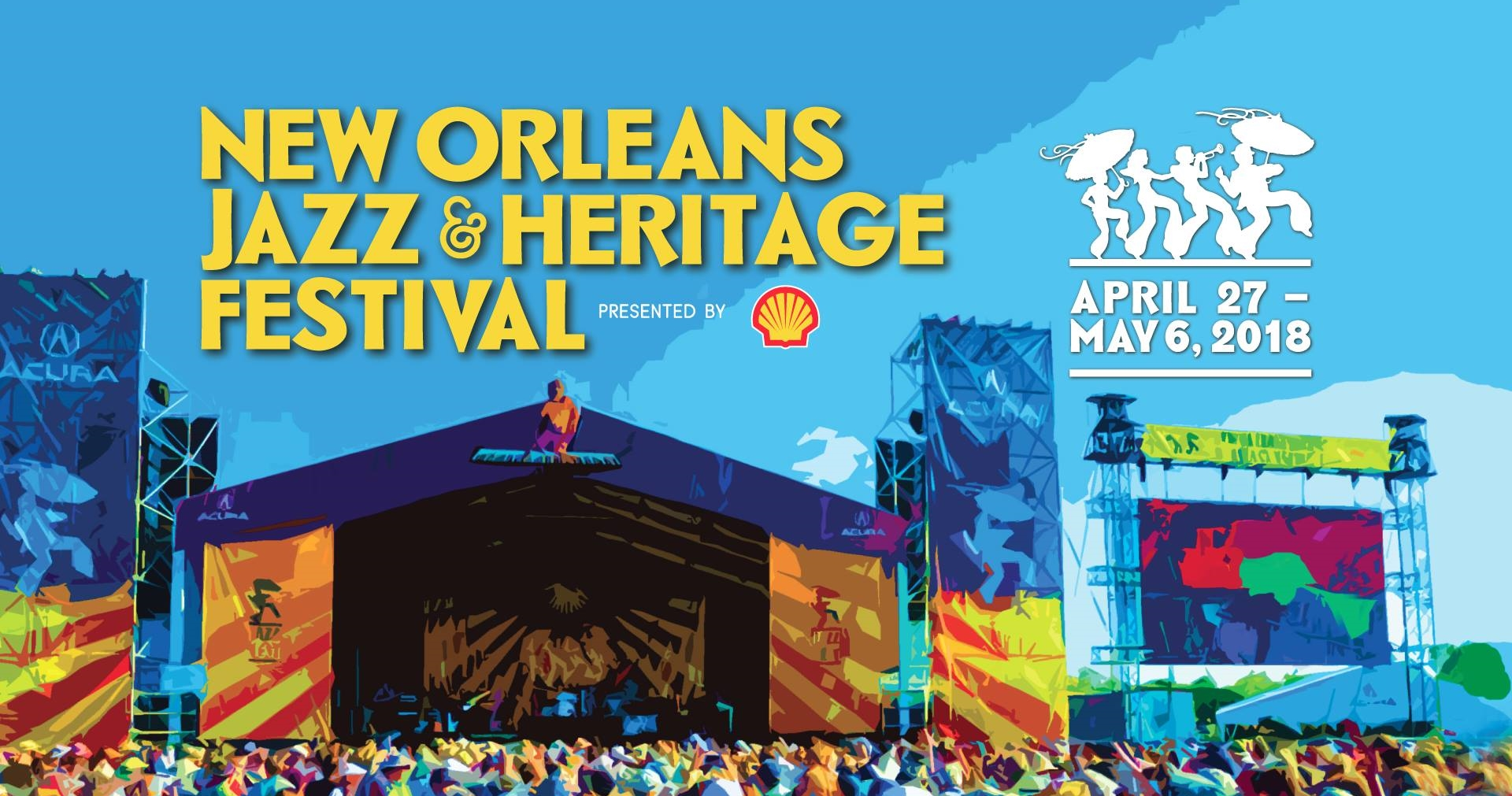 June Calendar New Orleans : Wuog goes to new orleans jazz heritage festival